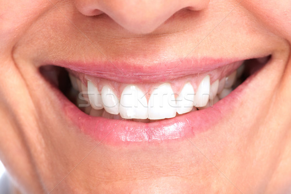 Beautiful healthy smile. Stock photo © Kurhan