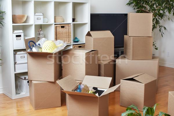 Nouvelle appartement immobilier maison Photo stock © Kurhan