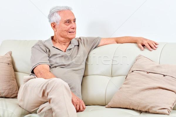 Senior man at home. Stock photo © Kurhan