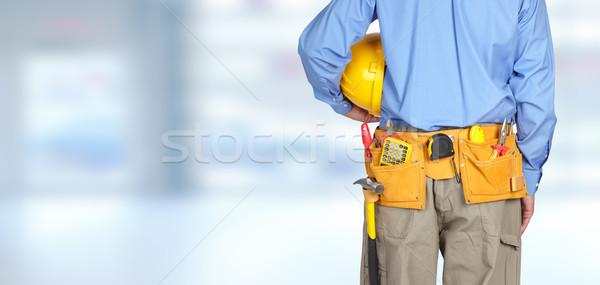 Strumento cintura blu home strumenti Foto d'archivio © Kurhan
