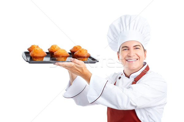 Chef Stock photo © Kurhan