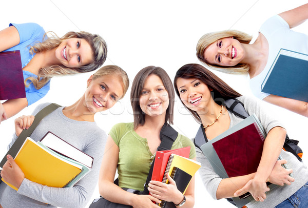 Students girls. Stock photo © Kurhan
