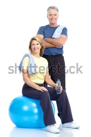 Gym & Fitness Stock photo © Kurhan