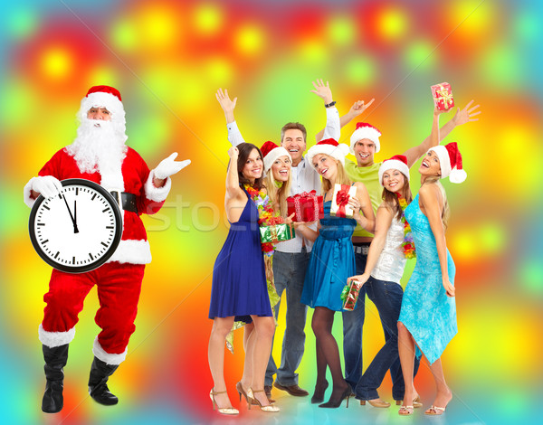 Christmas Santa Claus. Stock photo © Kurhan