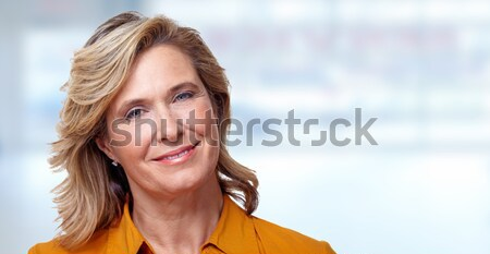 Mature woman portrait Stock photo © Kurhan