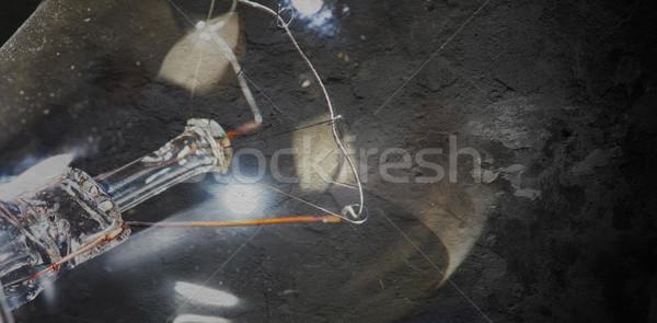 incandescent light bulb Stock photo © Kurhan