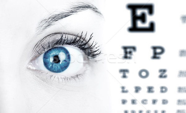 Eye Chart Stock photo © Kurhan