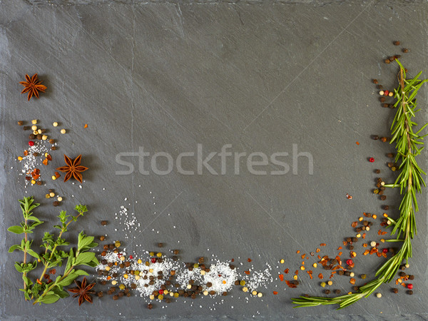Herbs and spices Stock photo © Kurhan