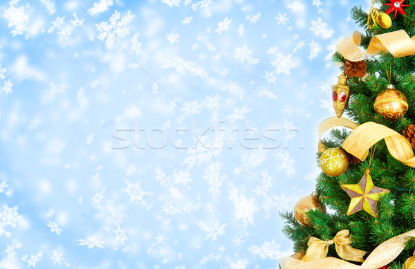 Christmas Tree Stock photo © Kurhan