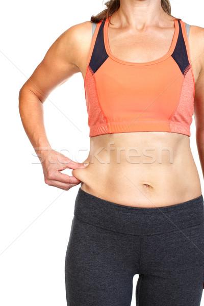 Body fat. Stock photo © Kurhan