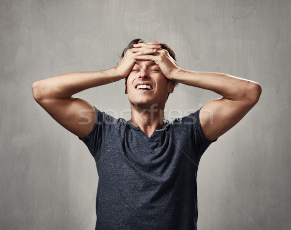 disappointed man portrait. Stock photo © Kurhan