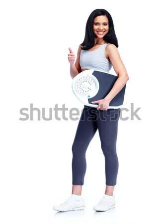 Fitness woman. Stock photo © Kurhan