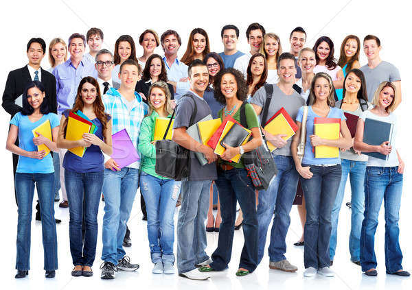 Students group. Stock photo © Kurhan