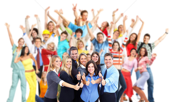 Group of workers people. Stock photo © Kurhan