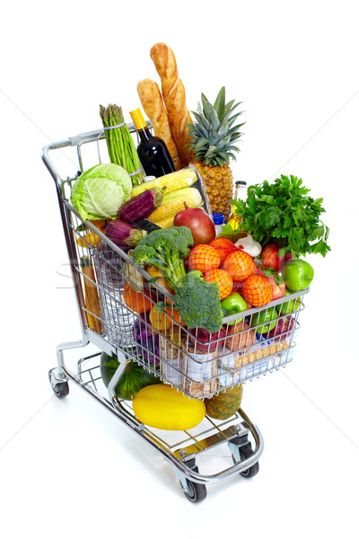 Shopping cart. Stock photo © Kurhan