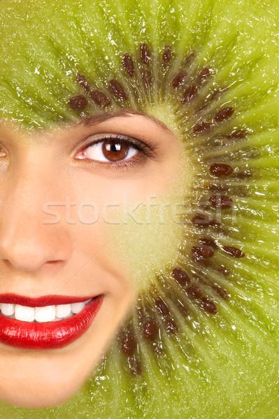 Kiwi Woman Stock photo © Kurhan