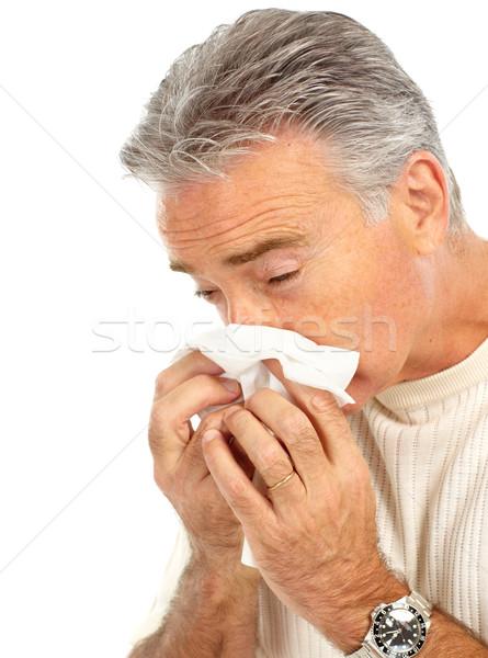 Stock photo: flu