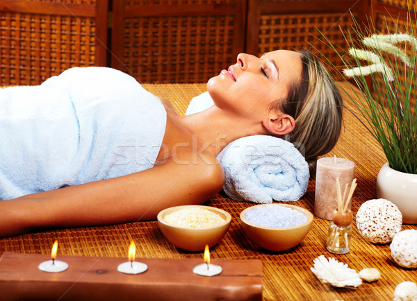 Spa massage. Stock photo © Kurhan