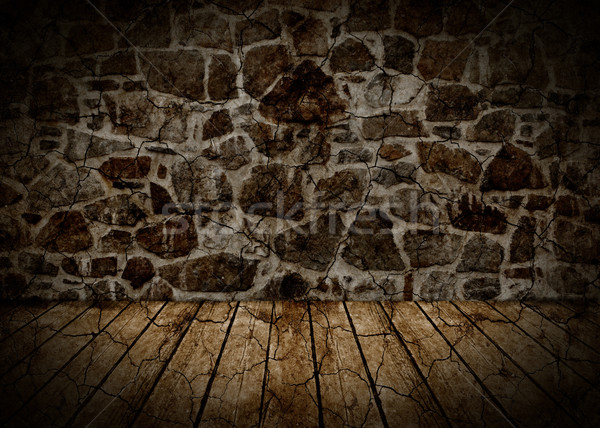 Wall and floor abstract background. Stock photo © Kurhan