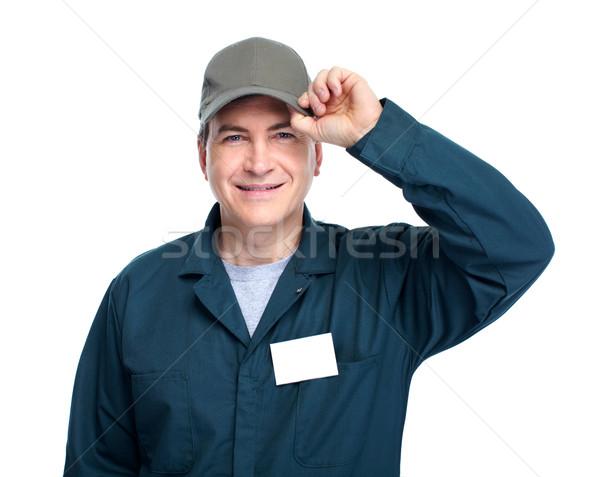 Auto mechanic. Stock photo © Kurhan