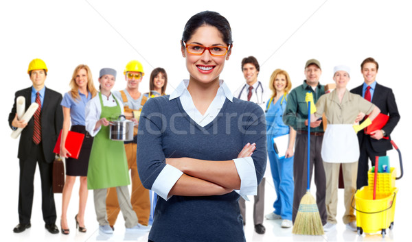 Business team. Stock photo © Kurhan
