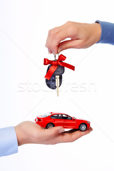 Las llaves del coche auto coche clave Foto stock © Kurhan