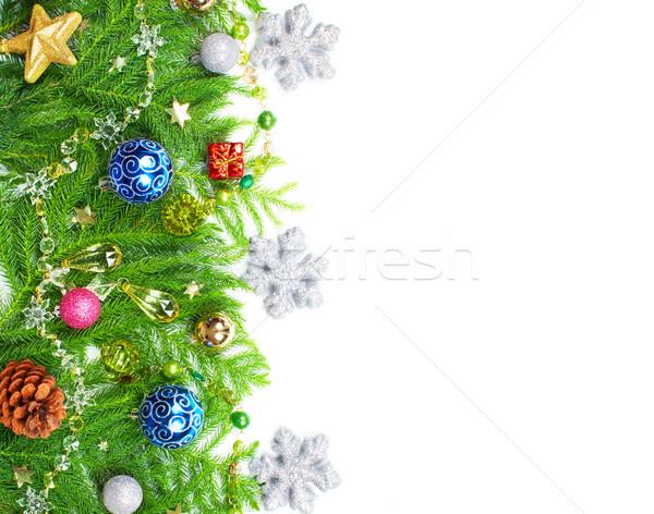Christmas tree decoration. Stock photo © Kurhan