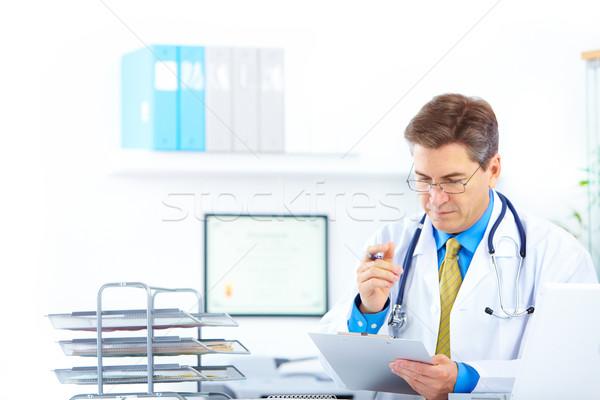Foto d'archivio: Medico · medici · ufficio · business · felice · salute