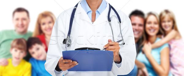 Family doctor. Stock photo © Kurhan