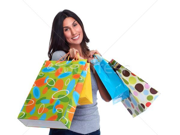 Shopping woman. Stock photo © Kurhan