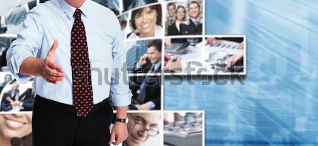 Group of business people collage. Stock photo © Kurhan