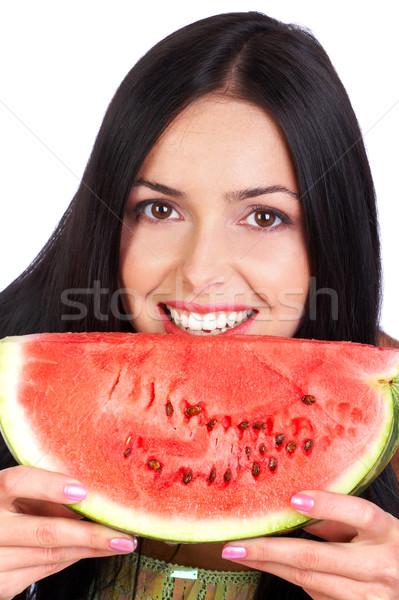 water-melon diet Stock photo © Kurhan