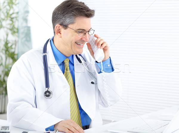 Medico medici lavoro laptop ufficio business Foto d'archivio © Kurhan