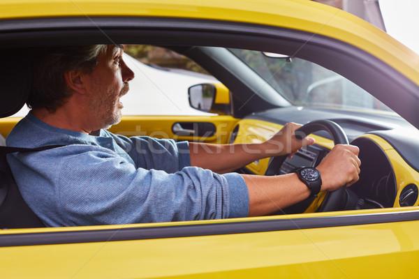 Stressed car driver. Stock photo © Kurhan