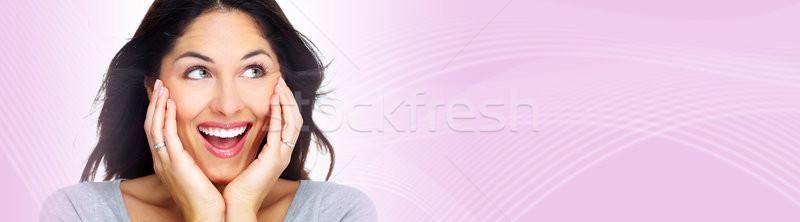 Beautiful girl portrait Stock photo © Kurhan