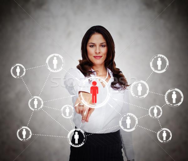 Social media network Stock photo © Kurhan