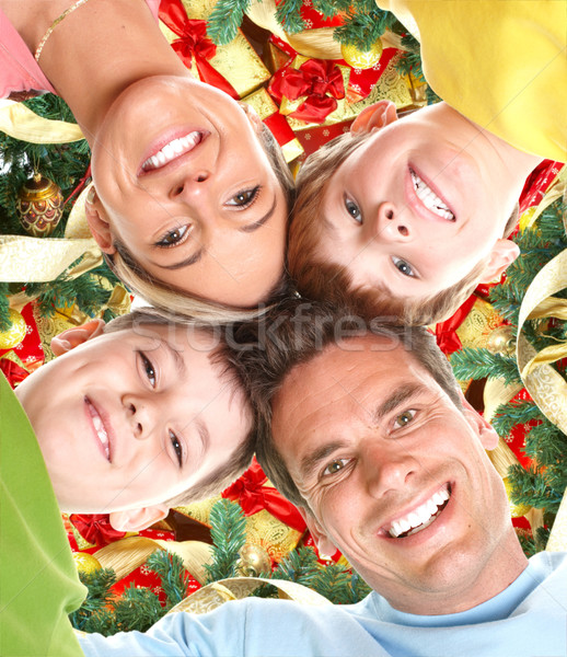 Christmas Family Stock photo © Kurhan