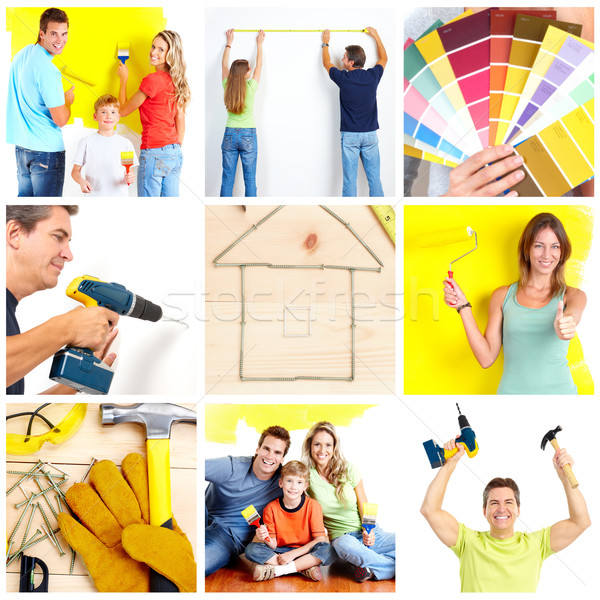 Stock photo: Renovation.