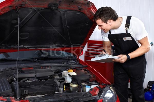 Auto mechanic Stock photo © Kurhan