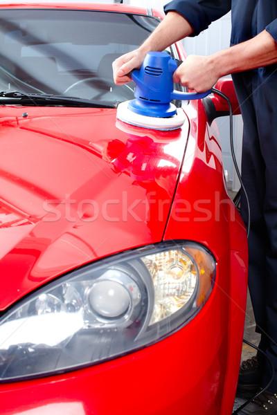 Auto polisher Stock photo © Kurhan