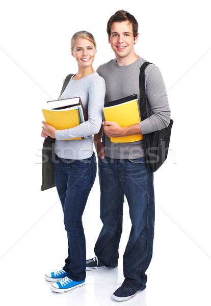 Students teens. Stock photo © Kurhan