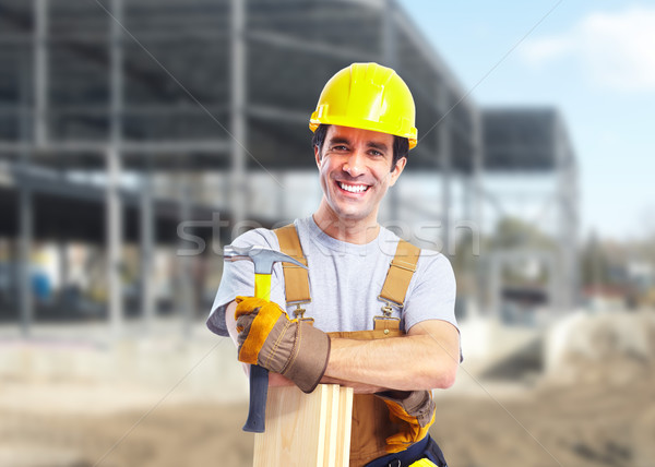 Industrial worker. Stock photo © Kurhan