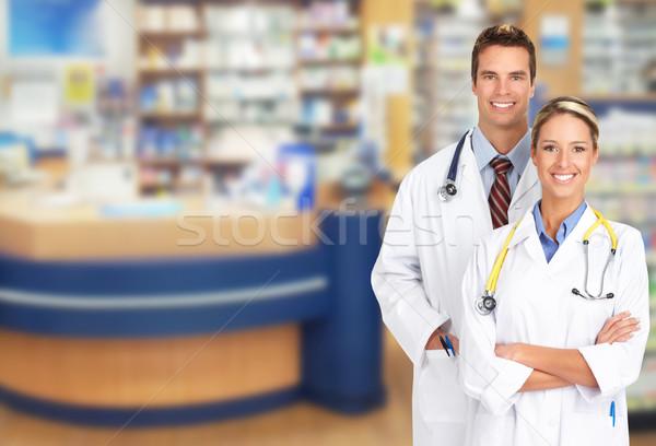 Pharmacist in a drugstore Stock photo © Kurhan