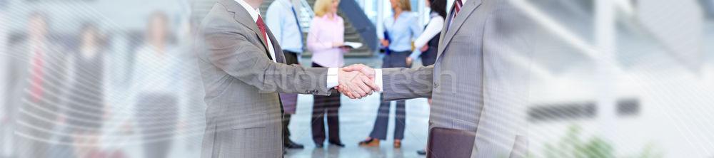 Business meeting handshake. Stock photo © Kurhan