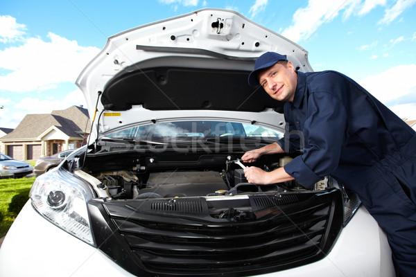 Professional auto mechanic. Stock photo © Kurhan