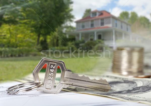 House key. Stock photo © Kurhan