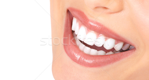 Stock photo: teeth and smile