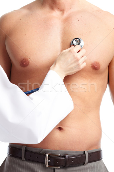 Doctor and patient. Stock photo © Kurhan