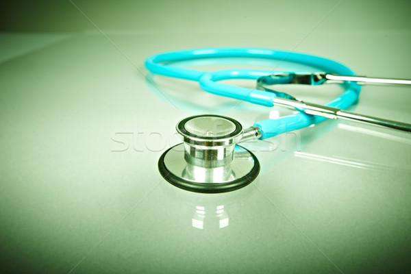 Medical stethoscope. Stock photo © Kurhan