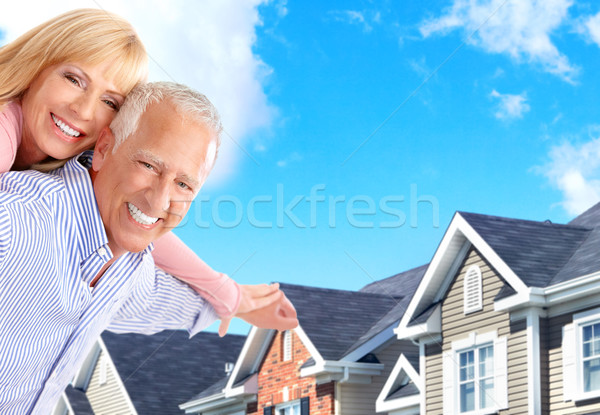 seniors Stock photo © Kurhan